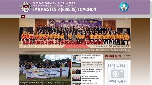 SMA Kr. 2 Tomohon